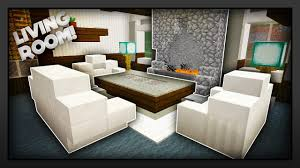 Minecraft Pe Living Room Designs by Minecraft How To Make A Traditional Living Room Youtube