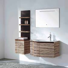 Teak Bathroom Shelving Unit by Solid Wood Bathroom Vanity Set Green Teak Finish Vm V11063