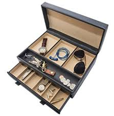 amazon com stock your home luxury men s dresser valet organizer