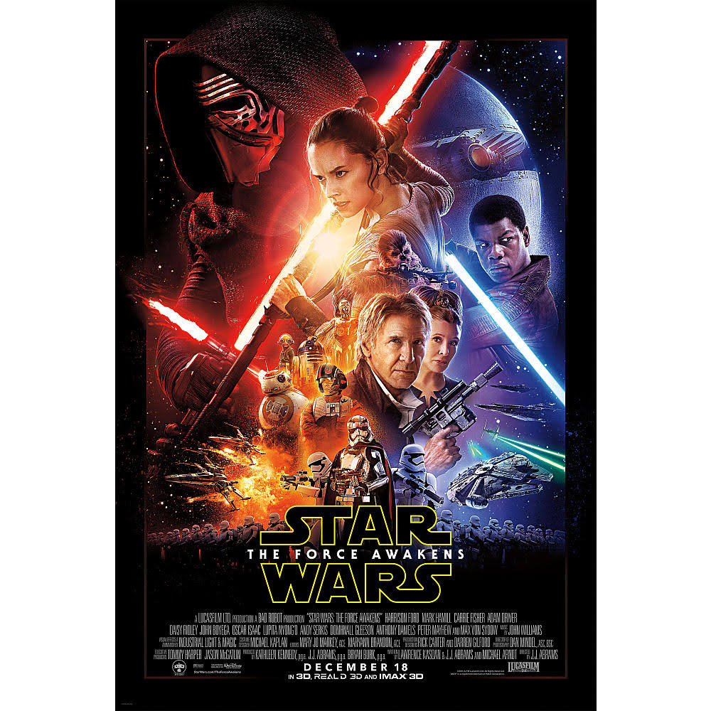Star Wars: The Force Awakens Blu-ray DVD and Digital HD