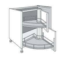 meuble d angle bas pour cuisine placard angle cuisine astuces pour meubles dangle accessoire