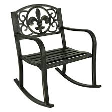 Outdoor Sunnydaze Decor Fleur-de-Lis Design Cast Iron Patio ... Best Rocking Chair In 20 Technobuffalo Row Chairs On Porch Stock Photo Edit Now 174203414 Swivel Glider Rocker Outdoor Patio Fniture Traditional Green Design For Your Vintage Metal Titan Al Aire Libre De Metal Banco Silla Mecedora Porche Two Toddler Recommend Titan Antique White Choice Products Indoor Wooden On License Download Or Print For Mainstays Jefferson Wrought Iron Walmartcom