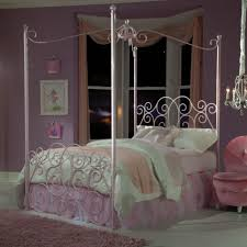 Twin Metal Canopy Bed Pewter With Curtains by Brilliant Girls Twin Bed Canopy Twin Size Canopy Bed Frame