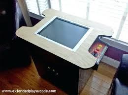 Bartop Arcade Cabinet Plans Pdf by Cool Mame Cabinet Plans Plans For Building A Arcade System Using A