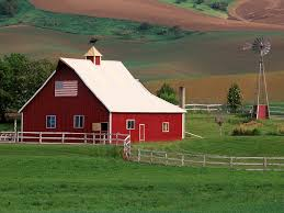 Farms: BEAUTIFUL FARM Palouse Country Eastern Washington Patriotic ... Red Barn Washington Landscape Pictures Pinterest Barns Original Boeing Airplane Company Building Museum The The Manufacturing Plant Exterior Of A Red Barn In Palouse Farmland Spring Uniontown Ewan Area Usa Stock Photo Royalty And White Fence State Seattle Flight Interior Hip Roof Rural Pasture Land White Fence On Olympic Pensinula