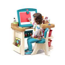 Step2 Deluxe Art Desk With Splat Mat by Step2 Deluxe Art Desk Uk Ayresmarcus