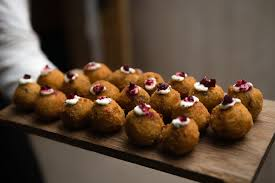 baked canapes risotto canapes food inspirations risotto