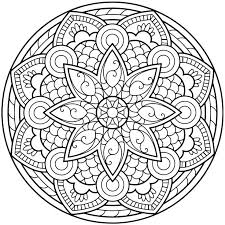 Mandala Coloring Pages Project Awesome Adult