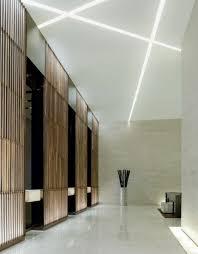 faux plafond bureau faux plafonds modernes pour mettre en valeur la pièce lobbies