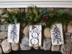 19 Rustic Christmas Decorations Made Inexpensively From Upcycled Items Photos
