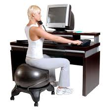 Gaiam Classic Balance Ball Chair Charcoal by Yoga Ball Balance Chairs Affordable Office Egronomics Modeets