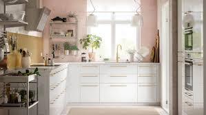 küche in pastelltönen luftig leicht ikea deutschland