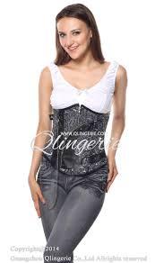 steampunk underbust corset n6488