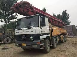 100 Concrete Pump Truck For Sale PM And Volvo Used Concrete Pump 46M