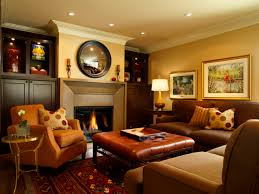 Family Room Wall Decorating Ideas Rustic Living Decor