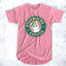 Starbucks Coffee Unicorn T Shirt For Men And Women