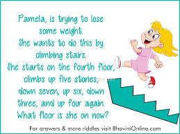Logical Riddle What Floor Is Pamela On Now