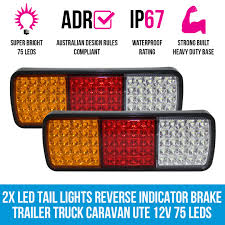 2x LED Trailer Light Reverse Indicator Brake Tail Lights Truck ... Truck Trailer Lights Archives Unibond Lighting 2pc Amber Running Board Led Light Kit With Courtesy Bright 240 Vehicle Car Roof Top Flash Strobe Lamp Snowdiggercom The Garage Harbor Freight Offroad Lorange Ambother 2x 20led Tail Turn Signal Led 2 Inch Round 42008 F150 Recon Smoked 264178bk Christmas On Ford Pickup Youtube In Lights Festival Of Holiday Parade Salem Or Stock Video Up Dtown Campbell River Truxedo Blight System For Beds Hardwired For Lumen Trbpodblk 8pod Bed