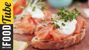m and s canapes smoked salmon horseradish canapes oliver