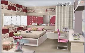Tutti Frutti Donation Teen Bedroom Set Free Clutter By Simcredible Designs