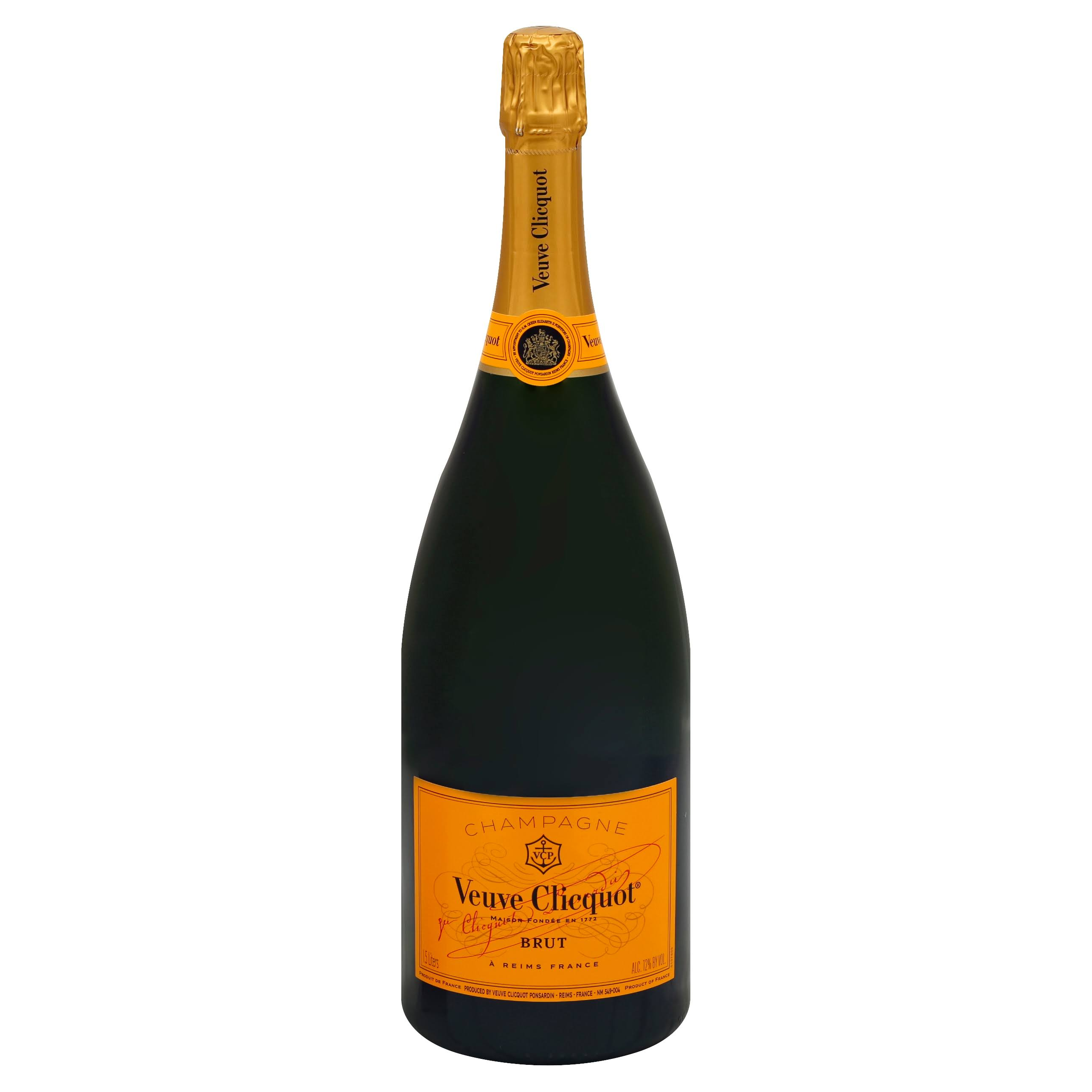 Veuve Clicquot Yellow Label Champagne - 1.5L