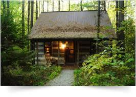 Frontier Log Cabins Rental in Hocking Hills Ohio