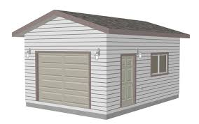 8 X 10 Gambrel Shed Plans by G443 14 U0027 X 20 U0027 X 10 U0027 Garage Plans Blueprints Downloadable