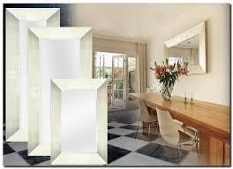 moderne spiegel romano silber