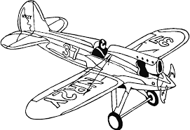 Coloring Picture Of NR2Y Aircraft