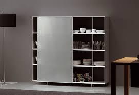 Leslie Dame Sliding Door Media Cabinet by Sliding Door Shelf U0026 Awe Inspiring Storage Cabinets With Doors
