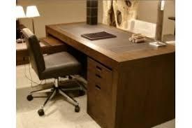 bureau contemporain bois massif bureau classique webdeco