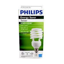 Philips Lamps Cross Reference by Philips 15639 Cfl Twister 32 Watt 120v Soft White Equal 125