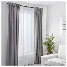 White Sheer Voile Curtains by Teresia Sheer Curtains 1 Pair Ikea