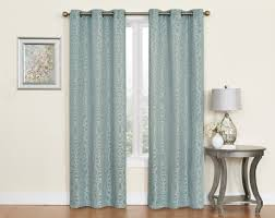 Kmart Sheer Curtain Panels by Sheer Voile Curtains With Ripplefold Heading And Blackout Behind