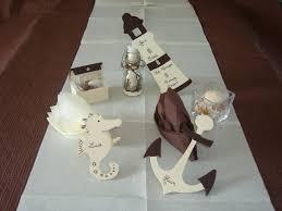 déco de table thème la mer déco mariage fêtes et colliers