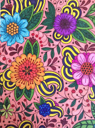 2016 Coloring Book And Paisleys Image