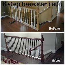 Bits Of Everything: 6 Step Banister Redo #home #redo #banister ... Stair Banisters And Railings Design Of Your House Its Good Best 25 Railing Ideas On Pinterest Banister Staircase With White Accents Black Metal Spindles Shoes 132 Best Rails Images Stairs Banisters Stairway Wrought Iron Balusters Custom Simple Handrails For Your And Railings Install John Robinson House Decor How To Paint An Oak Stair Interior Ideas Railing Kitchen Design Electoral7com Metal Spindlesmodern 49 For Code Nys