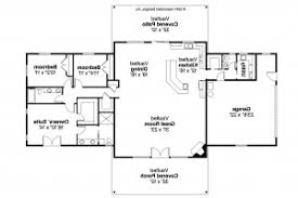 3 Bedroom Ranch Floor Plans Colors House Plan Ranch House Plans Anacortes 30 936 Associated Designs