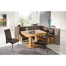 Amazon Breakfast Nook Black Family Diner 3 Piece Corner