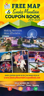 Smoky Mountain Coupon Book 2019 Season Passes Silver Dollar City Online Coupon Code For Dixie Stampede Dollywood Tickets Christmas Comes To Life At Dolly Partons Stampede This Holiday Coupons And Discount Dinner Show Pigeon Forge Tn Branson Ticket Travel Coupon Mo Smoky Mountain Book Tennessee Smokies Goguide Map 82019 Pages 1 32