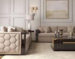 casa padrino luxus deco samt sofa beige dunkelbraun hochglanz gold 245 x 95 x h 75 cm edles wohnzimmer sofa luxus qualität