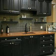 Black Kitchen Countertops Cabinets With Wood Appliances Serving For Bathroom Galaxy Granite