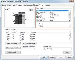 Configuring The Default Settings Of Printer Driver