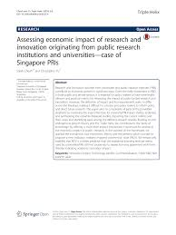 transfert du si鑒e social assessing economic impact of research and innovation originating