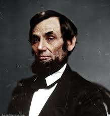 Colorful Term Abraham Lincoln 16th President Of The United States Taken By Mathew