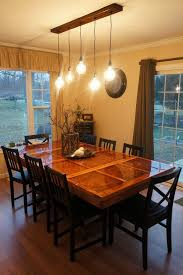 Dining Room Table Lighting Picture Of All Finished