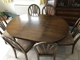 esszimmer tisch inkl 6 stühle