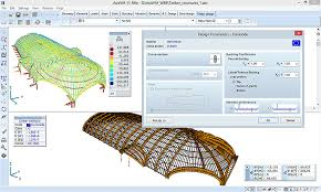 Wood Structure Design Software Free by Axisvm Timber Design