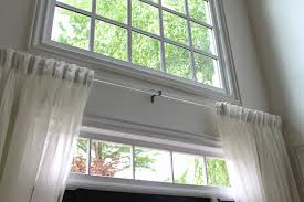 Front Door Sidelight Curtain Rods tiffanyd foyer changes adding privacy texture and a new old