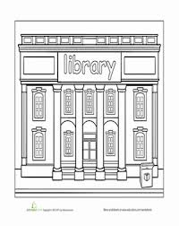 Preschool Coloring Worksheets Library Page